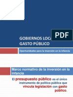 Gobiernos locales y gasto público 13-02-12 Pres