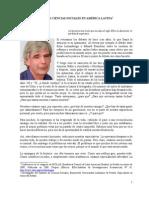 HOLLOWAY John - El Zapatismo y las ciencias sociales en América Latina