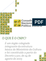 Conselho Nacional de Política Cultural