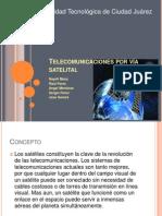 Telecomunicaciones por vía satelital