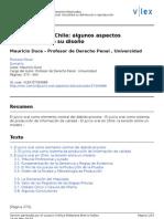 El Juicio Oral en Chile