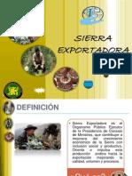 DIAPOSITIVAS SIERRA EXPORTADORA - 2012 UNCP FATS