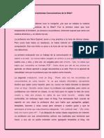 Herramientas Comunicativas de La Web (Articulo Yorbe)