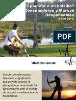 ¿El planeta o mi bolsillo?  Consumidores y Marcas Responsables (2012)