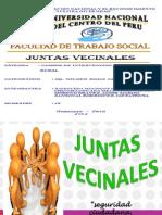 Junta Vecinal Trabajo Social