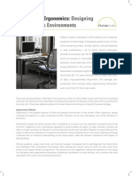 Workplace Ergonomics Whitepaper