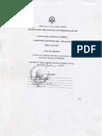 Caderno Eleitoral de Boaentrada