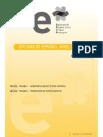 Ejemplo b1 Pruebas 1 y 2 Interpretacion y Produccion de Textos Escritos 22 de Agosto 2008
