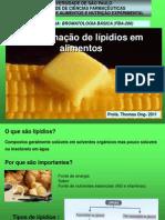 LIPIDIOS - DETERMINAÇÃO
