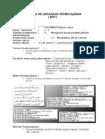 RPP PAI Berkarakter SD Kelas I Sms 1