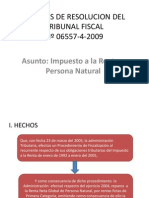 Analisis de Resolucion Del Tribunal Fiscal 3