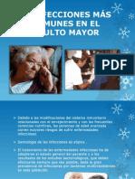 INFECCIONES MÁS COMUNES EN EL ADULTO MAYOR diapos