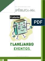 Manual - Planejando Eventos