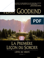 Goodkind,Terry-[Epee de Verite-01]La Premiere Lecon Du Sorcier(1994).OCR.french.ebook.alexandriZ