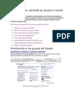 Google Groups.