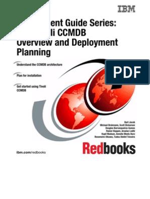 Deployment Guide Series IBM Tivoli CCMDB Overview and