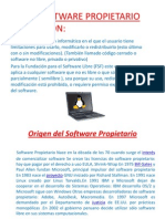 Software Propietario (fanny)