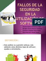 Fallos de La Seguridad (Tefy) Diapositiva Trabajo