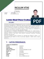 Curriculum Vitae Lester 2012