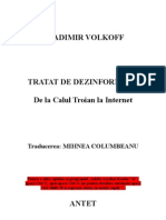 Vladimir Volkoff - Tratat de Dezinformare (Cartea = 194 Pagini)