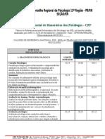 TABELA HONORÁRIOS PSIC-CFP-comentada-uso 2006