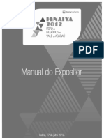 Manual Do Expositor - Fenaiva 2012