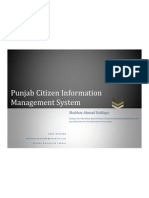 Shahbaz (Punjab Citizen Information Management System)