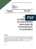 000 EA-10-18 Guia Para La Calibracion de PESAS