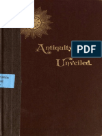 Antiquity Unveiled- Ancient Voices Proving Christianity to Be of Heathen Origin, Roberts. (1894)