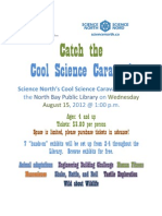 Science North Cool Science Flyer