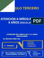 NORMAS NIÑEZ TERCER CAPITULO