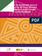Propuesta de estándares básicos para servicios de salud materna con pertinencia intercultural en la región andina