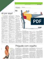 Jornal de Piracicaba tendo como fonte a psicóloga Nancy Erlach Danon