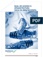Manual de Acesso a Infraestrutura Tecnologica Da BMFBOVESPA