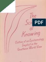 Rudolf Steiner - The Science of Knowing