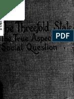 Rudolf Steiner - The Threefold State