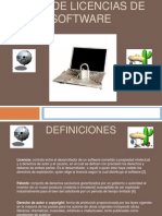 Tipos de Licencias de Software