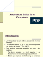 [01] Arquitectura básica de un Computador