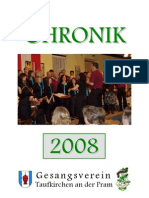 Gesangsverein Taufkirchen Chronik 2008