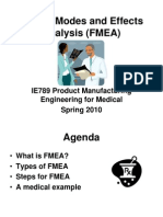 IE497Failure Modes and Effects Analysis (FMEA)