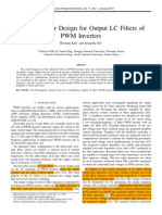 A Novel Filter Design for Output LC Filters of PWM inverter
