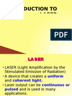 Introduction to Laser
