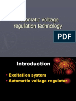 Automatic Voltage Regulation Technology