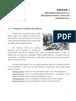 COMPONENTES Y ASPECTOS BASICOS DE LA MAQUINARIA PESADA