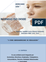 Norma Iso24500