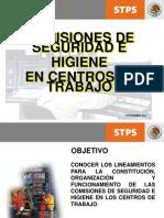 Comisiones de Seguridad y Salud en El Trabajo