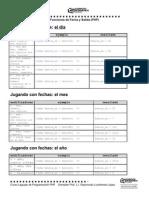 PHP funciones Fecha y Salida