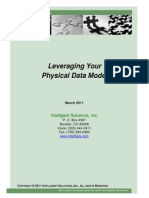 Leveraging Your Data Model