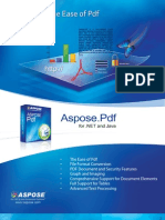 Aspose.Pdf Brochure
