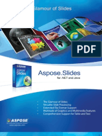 Aspose.Slides Brochure